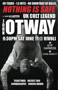 CB and Otway at The Rivoli June 11th